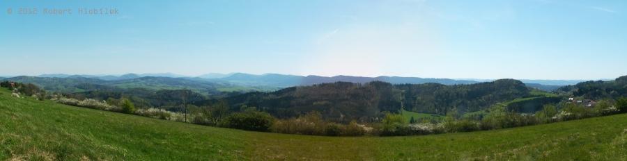 Pohled z vrcholu Svinec