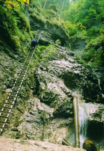 Slovenský raj - prielom Hornádu